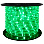 151′ Roll Green Rope Light – 3 wire