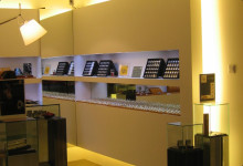 Jewelry Store- White LED Chameleon LED Strip Light Mono- PSX-7-GORDON MAX, SINGAPORE