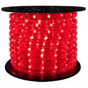 151′ Roll Red Rope Light – 3 wire